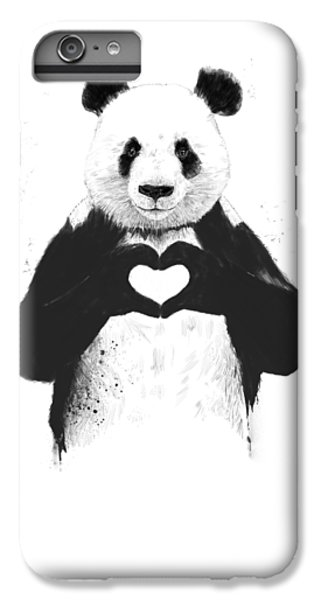 Animals iPhone 6 Plus Case - All You Need Is Love by Balazs Solti