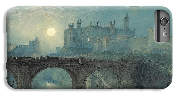 Alnwick Castle IPhone 6 Plus Case by Joseph Mallord William Turner