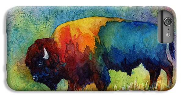 Wildlife iPhone 6 Plus Case - American Buffalo IIi by Hailey E Herrera