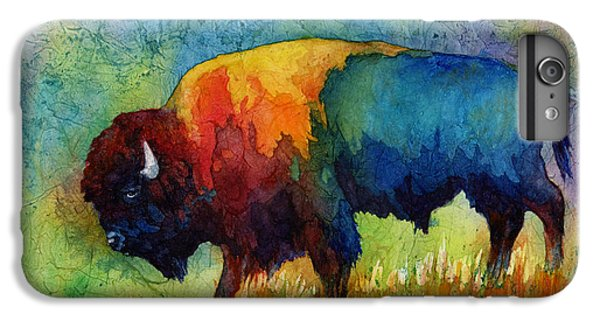 Mammals iPhone 6 Plus Case - American Buffalo IIi by Hailey E Herrera