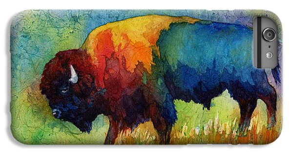 American Buffalo IIi IPhone 6 Plus Case by Hailey E Herrera