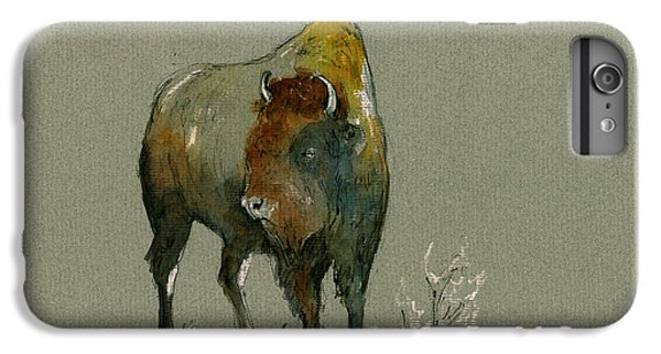 American Buffalo IPhone 6 Plus Case by Juan  Bosco