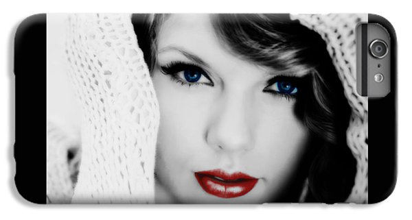 American Girl Taylor Swift IPhone 6 Plus Case by Brian Reaves