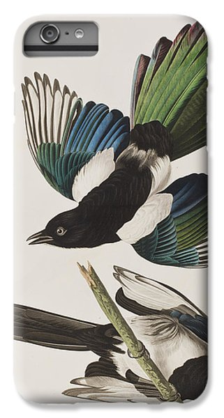 American Magpie IPhone 6 Plus Case by John James Audubon