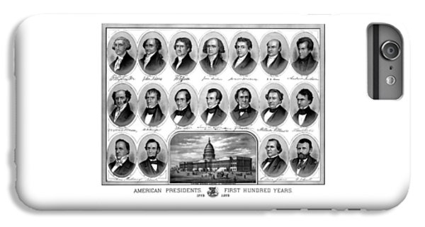 Thomas Jefferson iPhone 6 Plus Case - American Presidents First Hundred Years by War Is Hell Store