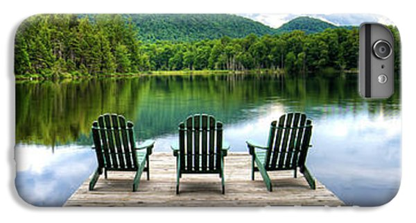 IPhone 6 Plus Case featuring the photograph An Adirondack Panorama by David Patterson