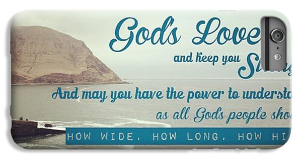 Design iPhone 6 Plus Case - And This Is God's Plan: Both Gentiles by LIFT Women's Ministry designs --by Julie Hurttgam