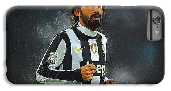 Andrea Pirlo IPhone 6 Plus Case by Semih Yurdabak