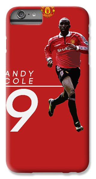 Wayne Rooney iPhone 6 Plus Case - Andy Cole by Semih Yurdabak