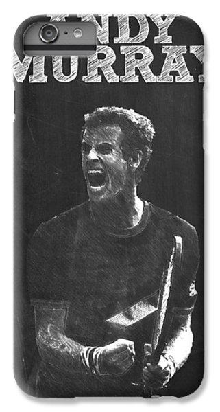 Andy Murray IPhone 6 Plus Case by Semih Yurdabak