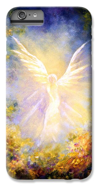 Fairy iPhone 6 Plus Case - Angel Descending by Marina Petro