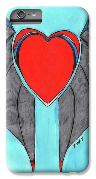 Angel Heart IPhone 6 Plus Case by Ronald Woods