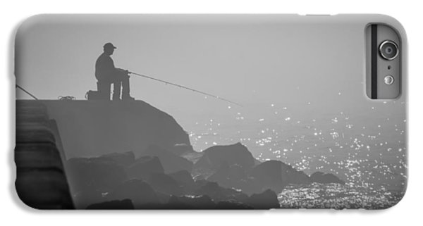 Angling In A Fog  IPhone 6 Plus Case by Bill Pevlor