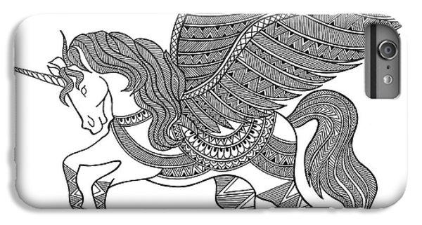 Animal Unicorn IPhone 6 Plus Case by Neeti Goswami
