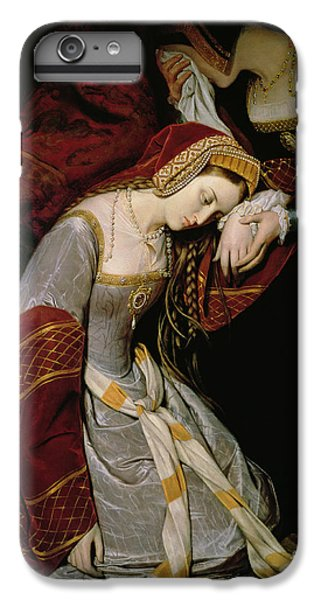 Anne Boleyn In The Tower IPhone 6 Plus Case by Edouard Cibot
