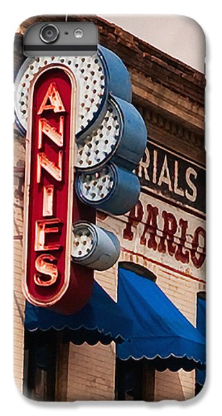 Annies U Of M IPhone 6 Plus Case by Susan Stone
