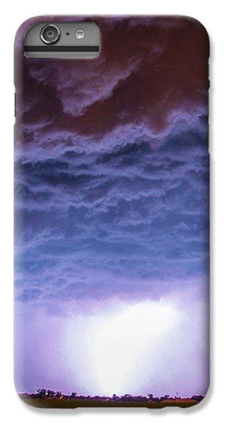 Nebraskasc iPhone 6 Plus Case - Another Impressive Nebraska Night Thunderstorm 007 by NebraskaSC