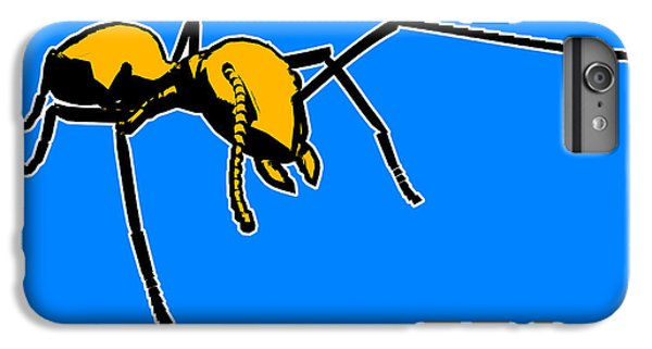 Ant iPhone 6 Plus Case - Ant Graphic  by Pixel  Chimp