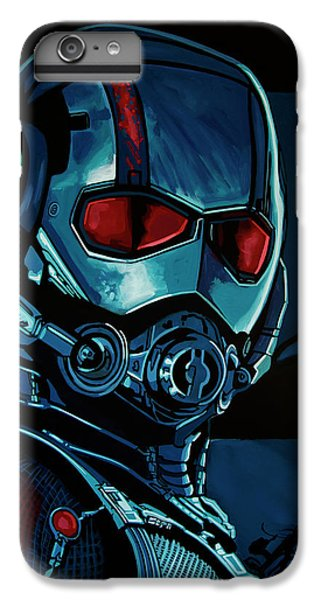 Ant Man Painting IPhone 6 Plus Case by Paul Meijering