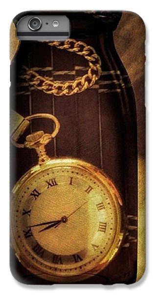 Antique Pocket Watch In A Bottle IPhone 6 Plus Case by Susan Candelario