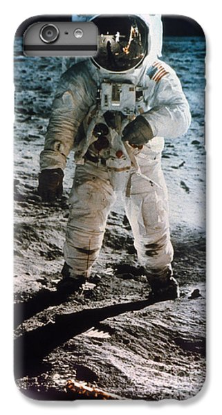 Astronauts iPhone 6 Plus Case - Apollo 11 Buzz Aldrin - To License For Professional Use Visit Granger.com by Granger