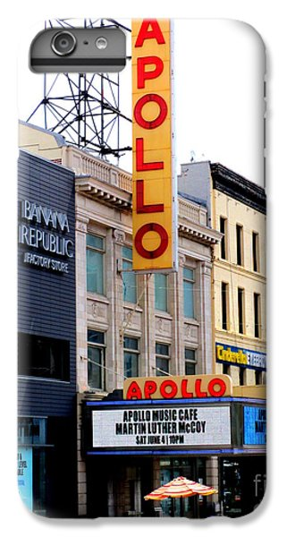 Harlem iPhone 6 Plus Case - Apollo Theater by Randall Weidner