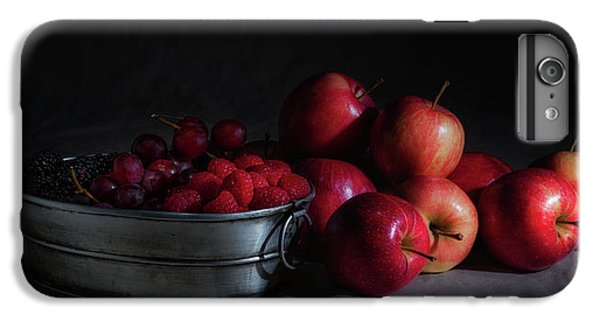 Apples And Berries Panoramic IPhone 6 Plus Case by Tom Mc Nemar