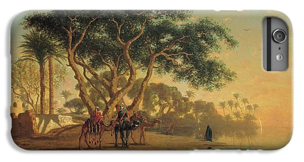 Arab Oasis IPhone 6 Plus Case by Narcisse Berchere