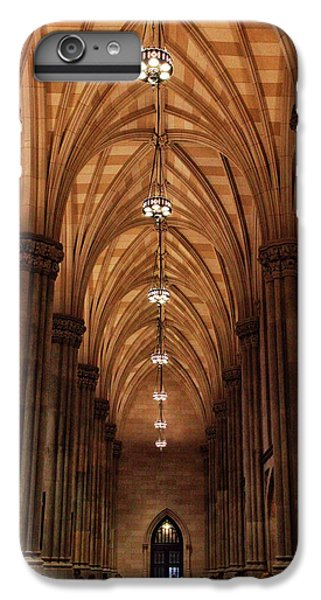 IPhone 6 Plus Case featuring the photograph Arches Of St. Patrick's Cathedral by Jessica Jenney