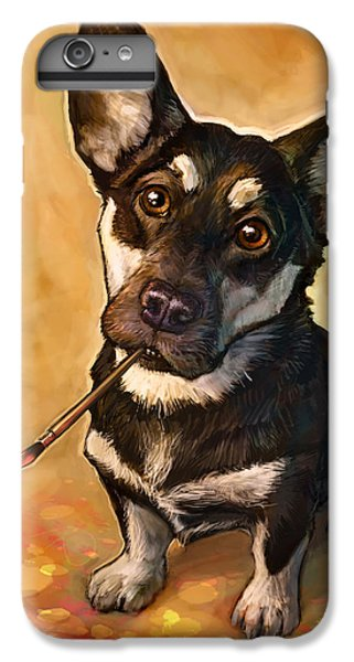 Dog iPhone 6 Plus Case - Arfist by Sean ODaniels