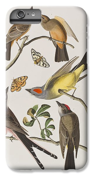 Arkansaw Flycatcher Swallow-tailed Flycatcher Says Flycatcher IPhone 6 Plus Case by John James Audubon