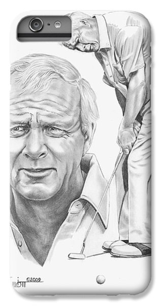Arnold Palmer IPhone 6 Plus Case by Murphy Elliott