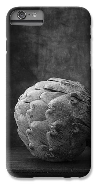 Artichoke Black And White Still Life IPhone 6 Plus Case by Edward Fielding