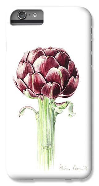 Artichoke From Roman Market IPhone 6 Plus Case by Alison Cooper