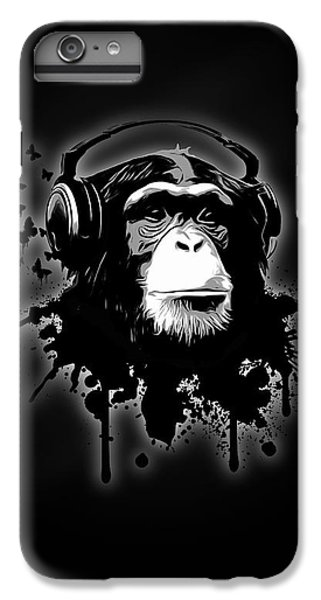 Monkey Business - Black IPhone 6 Plus Case by Nicklas Gustafsson