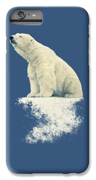 Bear iPhone 6 Plus Case - Something In The Air by Lucie Bilodeau