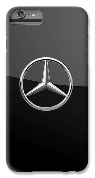 Mercedes-benz - 3d Badge On Black IPhone 6 Plus Case