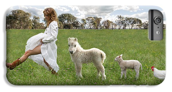A Walk In The Country IPhone 6 Plus Case by Linda Lees