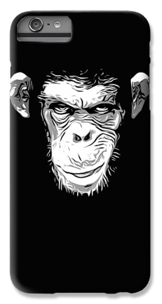 Evil Monkey IPhone 6 Plus Case by Nicklas Gustafsson