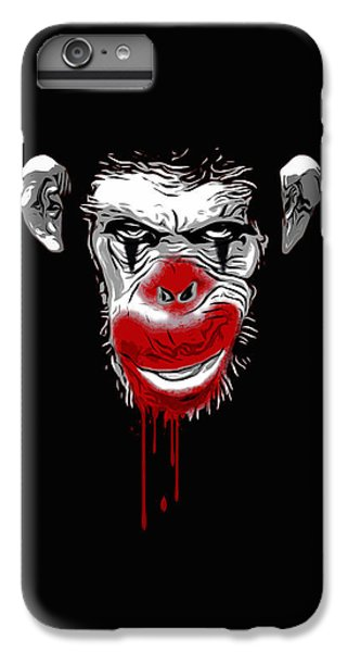 Evil Monkey Clown IPhone 6 Plus Case by Nicklas Gustafsson
