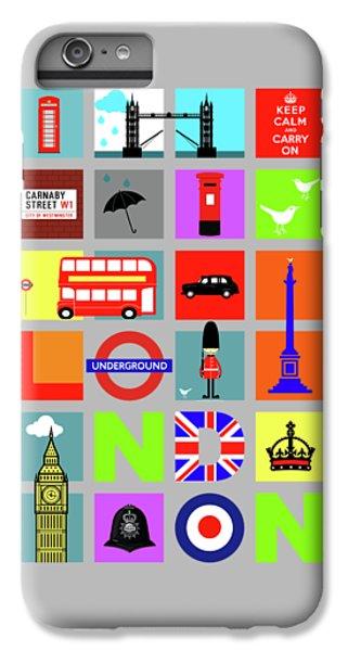 London iPhone 6 Plus Case - London by Mark Rogan