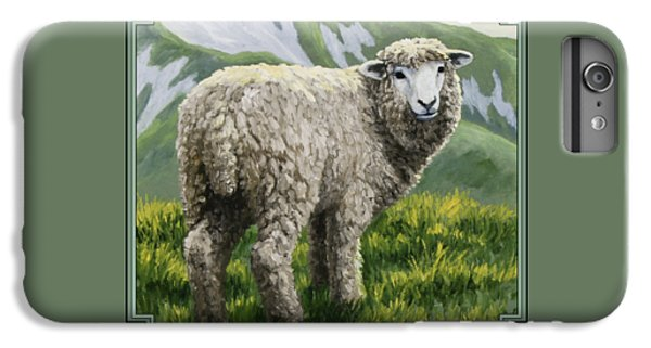 Highland Ewe IPhone 6 Plus Case by Crista Forest