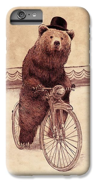 Bicycle iPhone 6 Plus Case - Barnabus by Eric Fan
