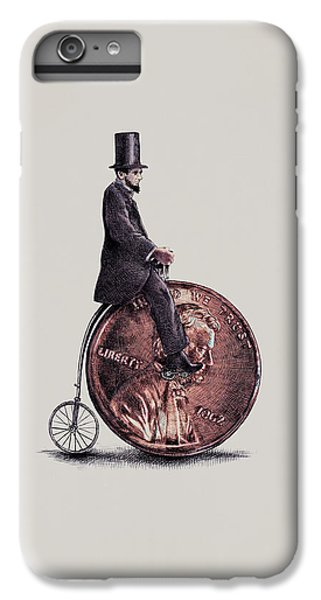 Penny Farthing IPhone 6 Plus Case by Eric Fan