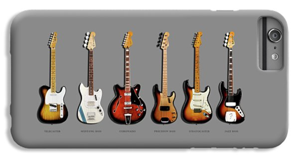 Rock And Roll iPhone 6 Plus Case - Fender Guitar Collection by Mark Rogan