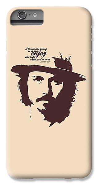 Johnny Depp Minimalist Poster IPhone 6 Plus Case