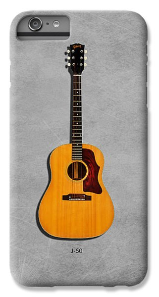 Gibson J-50 1967 IPhone 6 Plus Case by Mark Rogan