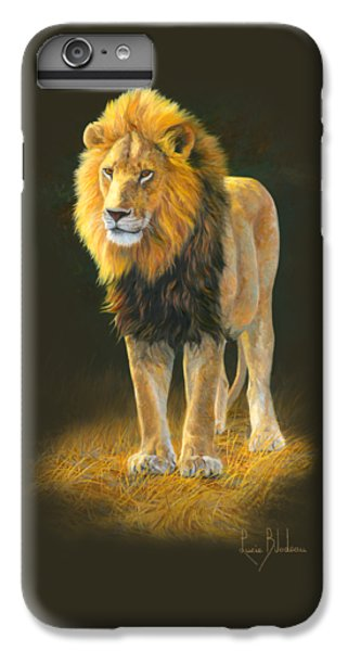 Lion iPhone 6 Plus Case - In His Prime by Lucie Bilodeau