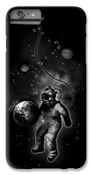 Deep Sea Space Diver IPhone 6 Plus Case by Nicklas Gustafsson