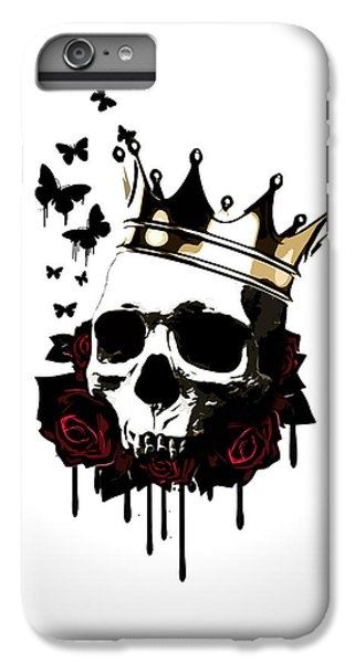 Butterfly iPhone 6 Plus Case - El Rey De La Muerte by Nicklas Gustafsson